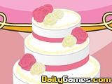 Mia Cooking Wedding Cake