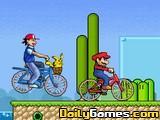 DBZ Toon BMX Race
