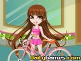 Vivian Bike Ride Dressup