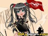 Warrior Doll Dressup