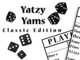 Yatzy Yahtzee Yams Classic Edition