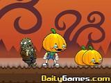 Eat Pumpkins in Zombie Town