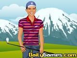 Tiger Woods dress up